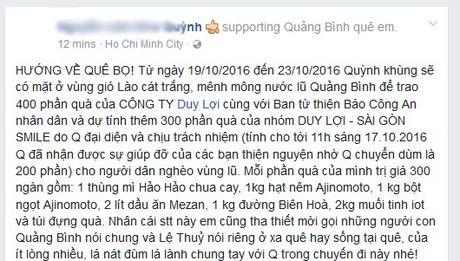 Dan mang soi suc ung ho dong bao mien Trung khac phuc hau qua bao lu - Anh 3