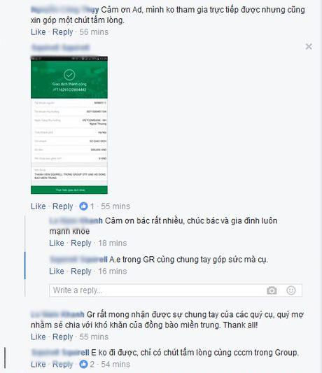 Dan mang soi suc ung ho dong bao mien Trung khac phuc hau qua bao lu - Anh 6