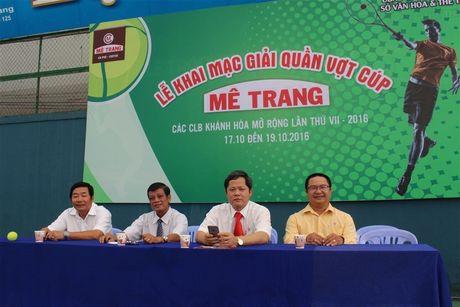 Khai mac Giai quan vot cac CLB tinh Khanh Hoa mo rong - Anh 2
