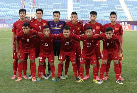 U19 VN vs U19 UAE (1-0, H1): Minh Di mo ty so - Anh 10