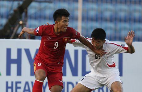 U19 VN vs U19 UAE (1-0, H1): Minh Di mo ty so - Anh 12
