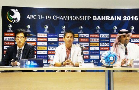 U19 VN vs U19 UAE (1-0, H1): Minh Di mo ty so - Anh 14