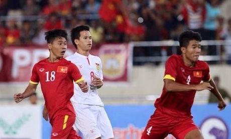 U19 VN vs U19 UAE (1-0, H1): Minh Di mo ty so - Anh 2