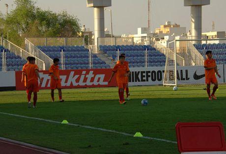 U19 VN vs U19 UAE (1-0, H1): Minh Di mo ty so - Anh 5
