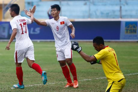 U19 VN vs U19 UAE (1-0, H1): Minh Di mo ty so - Anh 7