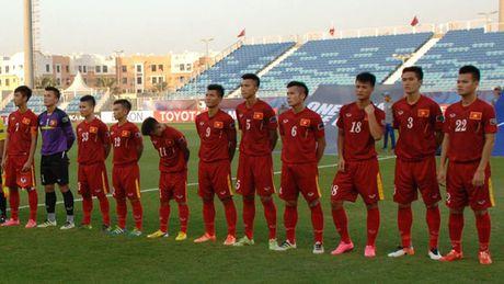 U19 VN vs U19 UAE (1-0, H1): Minh Di mo ty so - Anh 9