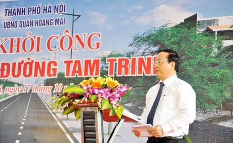 Ha Noi khoi cong duong hon 2.000 ty - Anh 1