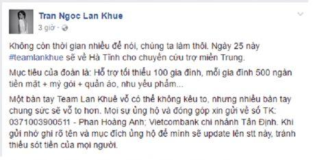 Sao Viet keu goi moi nguoi chung tay giup do mien Trung - Anh 5