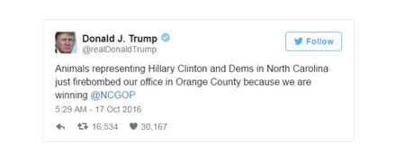 Nghi ba Clinton danh bom tru so dang Cong hoa, ong Trump lon tieng goi ba la 'con vat' - Anh 2