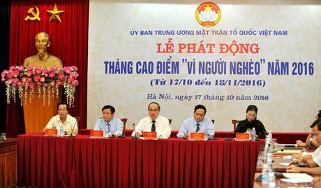 Phat dong Thang cao diem 'Vi nguoi ngheo' nam 2016 - Anh 1