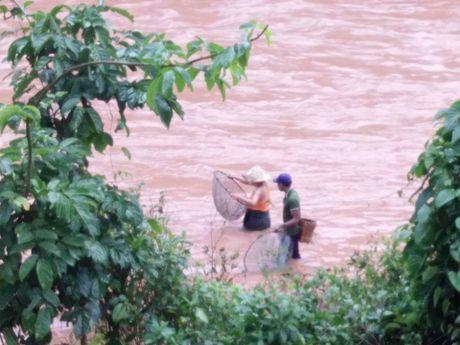 Quang Binh: Muu sinh trong lu du, hang chuc nguoi mat mang - Anh 1