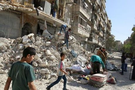 Nga ngung khong kich Aleppo 8 tieng - Anh 1