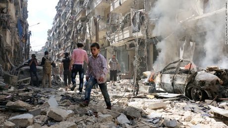 Nga: Aleppo se ngung chien trong vong 8 tieng - Anh 1