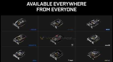 Nvidia Geforce GTX 1050 Ti gia 139 USD, GTX 1050 gia 109 USD, ra mat 25/10? - Anh 2