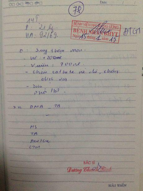 Khon cung me don than ung thu va con suy than het sach tien dieu tri - Anh 3