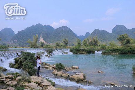 Chom lanh, len Cao Bang ngam sac xanh cua nuoc - Anh 9