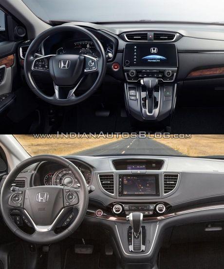 Su khac biet giua Honda CR-V 2017 va Honda CR-V 2015 - Anh 4