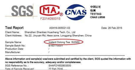 Phat hien bot tra O long Tea Trung Quoc nhiem chi va thach tin? - Anh 1