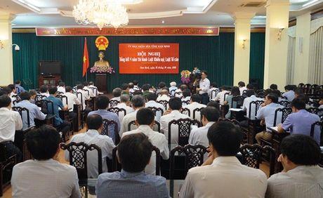 Nam Dinh tong ket 4 nam thi hanh Luat Khieu nai, Luat To cao - Anh 1