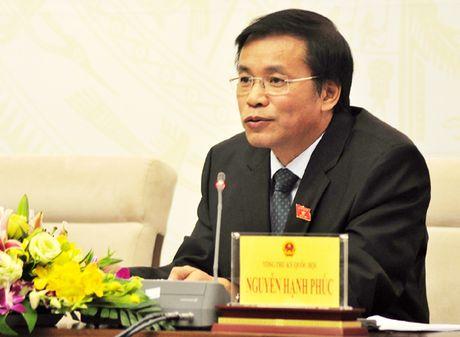 """Tong Thu ky Quoc hoi: Khoan xe cong phai """"bot dau xe, bot lai xe"""" - Anh 1"""
