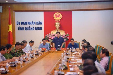 Quang Ninh: Pho Thu tuong Chinh Phu chu tri cuoc hop chi dao phong chong bao so 7 - Anh 2