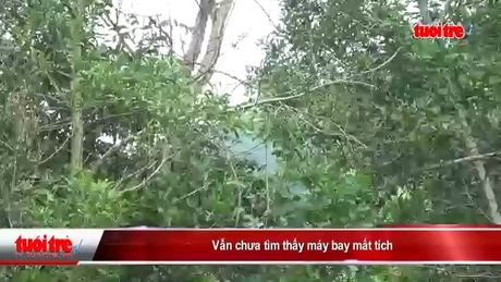 Van chua tim thay may bay mat tich - Anh 5
