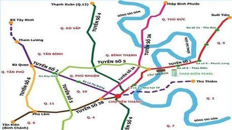 41.607 ti dong xay dung tuyen metro so 5 TP.HCM - Anh 1