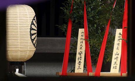 Thu tuong Nhat Ban gui le vat den den Yasukuni - Anh 1