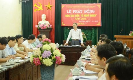 Nam Dinh long ghep cac nguon luc ho tro nguoi ngheo - Anh 1