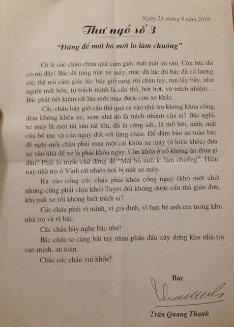 Bac chu nha tro tang tien nu sinh vien nhan ngay 20/10 - Anh 1