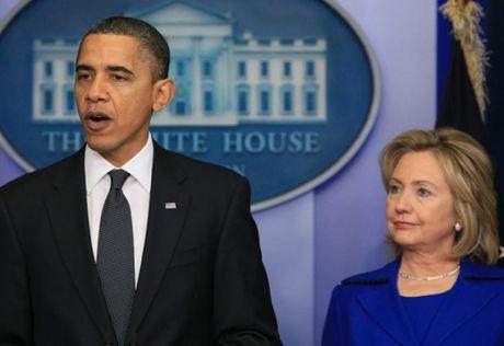 Ba Clinton duoc khuyen bo tranh luan lan cuoi - Anh 1