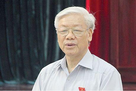Tong Bi thu: 'Chong tham nhung phai nhu rua mat hang ngay' - Anh 1