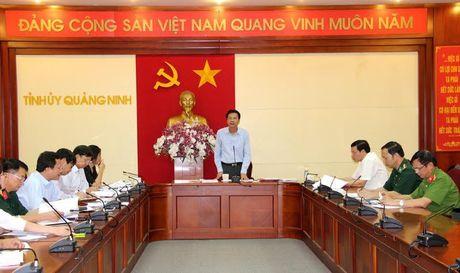 Quang Ninh dung tat ca cac cuoc hop de chi dao cong tac phong, chong bao so 7 - Anh 1