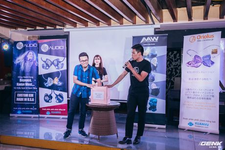 """Toan canh CIEMS - Cables and Passion 2016: 64Audio, Oriolus va AAW do bo, """"dong"""" tai nghe custom o Viet Nam nay chi tu 4 trieu dong! - Anh 12"""