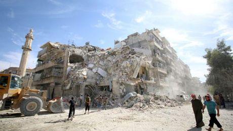 The gioi hoan nghenh lenh ngung ban 8 gio tai Aleppo, Syria - Anh 1