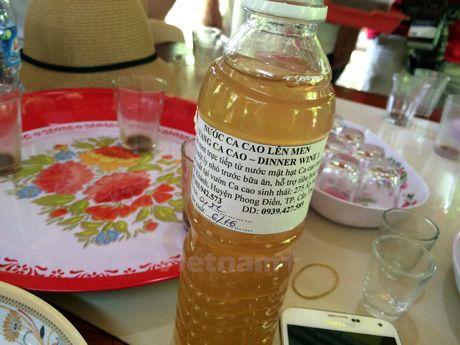 Bai 2: Lao nong che tao may va lam ruou vang cacao 'made in Vietnam' - Anh 2