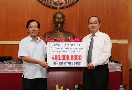 MTTQ Viet Nam tiep nhan ho tro dong bao mien Trung den 30/11 - Anh 1