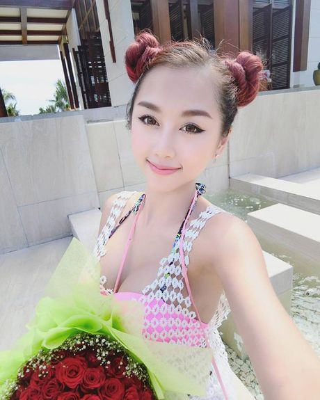 Ve dep nong bong cua DJ 'du lich chau Au het 42 trieu' - Anh 3