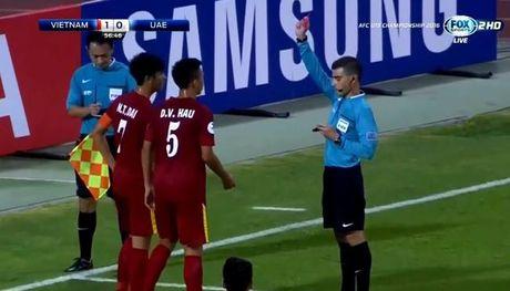 U19 Viet Nam co the bi loai vi… dinh qua nhieu the phat - Anh 1