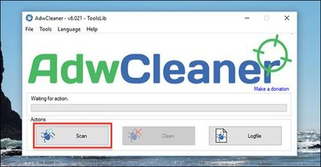 Go bo adware cuc nhanh voi AdwCleaner - Anh 2