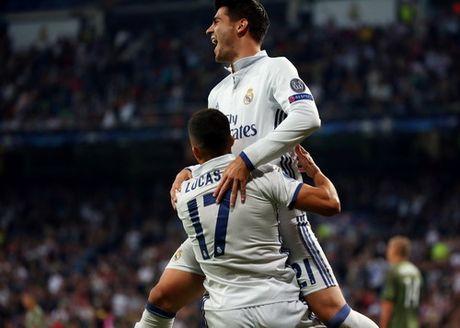 """Real Madrid """"nghien nat"""" Legia Warsaw o Bernabeu - Anh 5"""