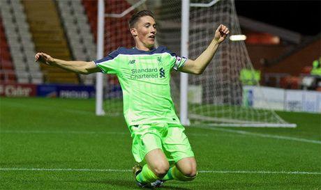 Xem sao tre Liverpool ghi ban ao dieu vao luoi U23 M.U - Anh 1