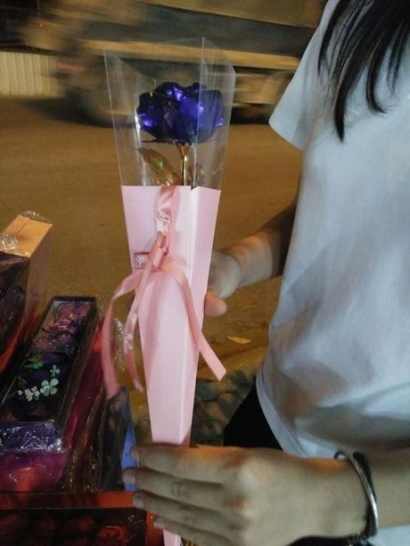 Hoa hong ma vang, qua tang hut khach dip 20/10 - Anh 2