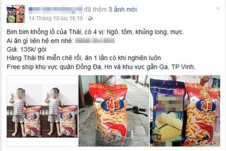"Gioi tre Viet phat cuong voi bim bim ""khong lo"" to bang nua nguoi lon - Anh 1"