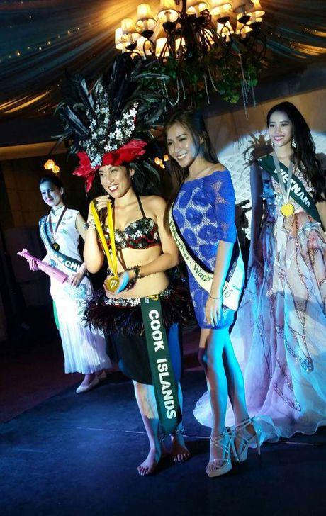 Nam Em dat huy chuong Bac thi tai nang tai Miss Earth 2016 - Anh 2