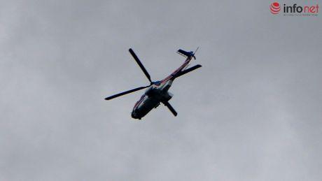 Truc thang quan thao tren nui Dinh tim chiec EC-130 mat tich - Anh 3