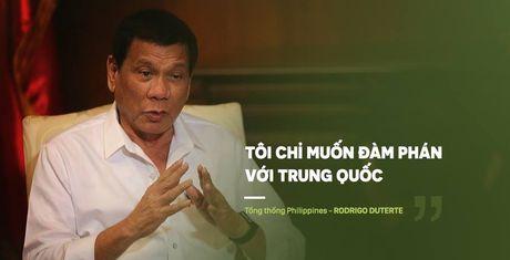Nikkei: Voi thai do cua Duterte, cuc dien bien Dong se theo y TQ - Anh 1