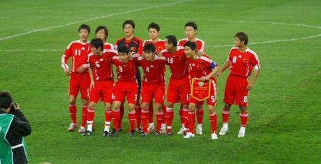 Trung Quoc thua be bang, roi giai U19 chau A trong that vong - Anh 1