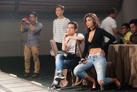 Minh Tu, Phi Phuong Anh doi lap di tong duyet show Chung Thanh Phong - Anh 4