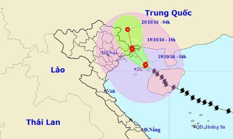 Chieu nay, bao so 7 manh cap 8 do bo Quang Ninh - Anh 1